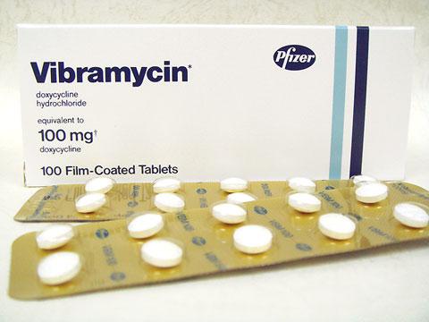 ビブラマイシン(Vibramycin)100mg