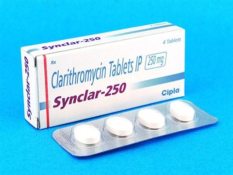 クラリスロマイシン(製品名:Synclar)250mg